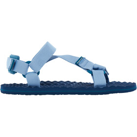 The North Face W's Base Camp Switchback Sandals Dusty Blue/Blue Coral